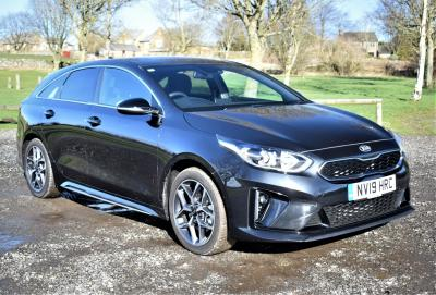 Kia Pro Ceed 1.6 CRDi ISG GT-Line 5dr DCT ESTATE Diesel Black at S G Petch Limited Richmond