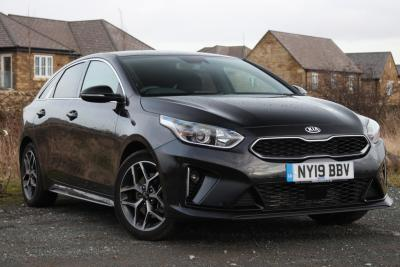 Kia Pro Ceed 1.4T GDi ISG GT-Line 5dr ESTATE Petrol Black at S G Petch Limited Richmond