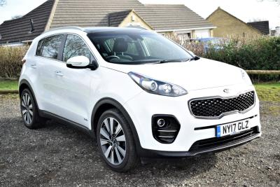 Kia Sportage 2.0 CRDi KX-3 5dr Auto SUV Diesel White at S G Petch Limited Richmond