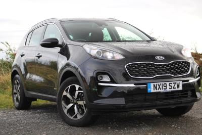 Kia Sportage 1.6T GDi ISG 2 5dr [AWD] 4x4 Petrol Black at S G Petch Limited Richmond