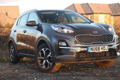 Kia Sportage 1.6 GDi ISG 2 5dr ESTATE Petrol Grey at S G Petch Limited Richmond